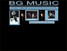 Tablet Preview of bgmusic.co.uk